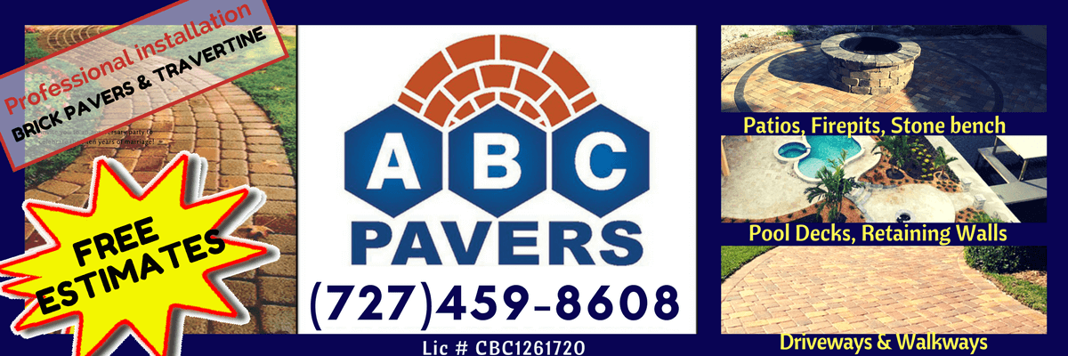 brick pavers installer tampa driveway pool deck patio