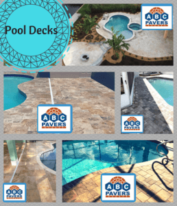 Pool Decks Retaining walls Ideas Design Gallery installed by contractor ABC PAVERS